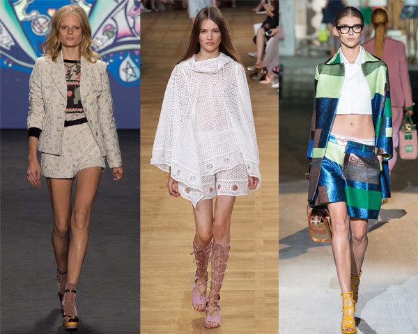 Модные шорты весна-лето 2015 для девушек и женщин с фото | Весна-лето