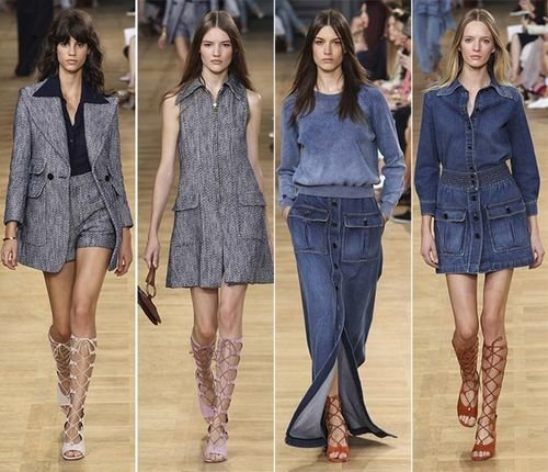 Модные тендеции в моде Весна-2015, женские куртки и образы