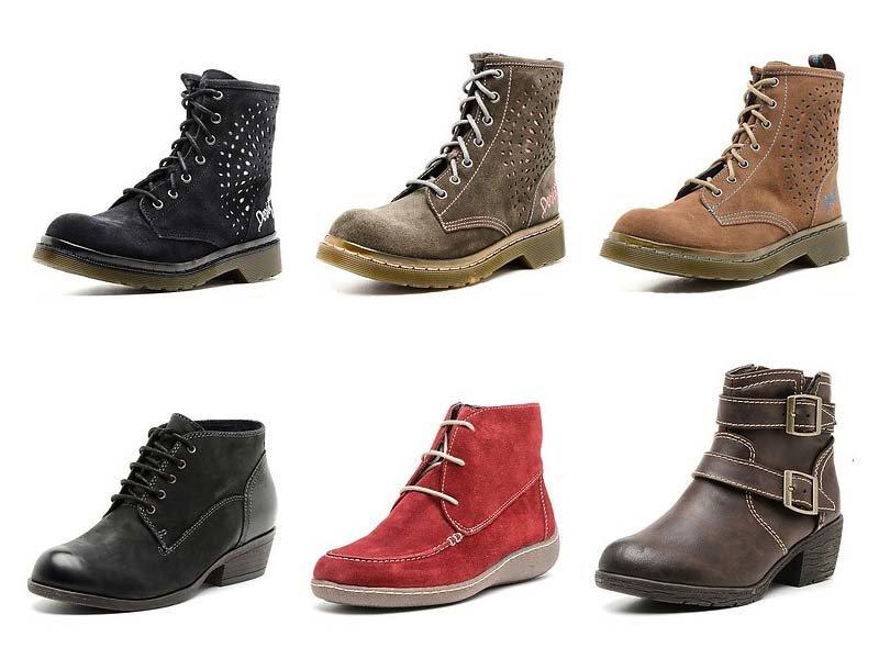 Модные женские осенние ботинки 2015