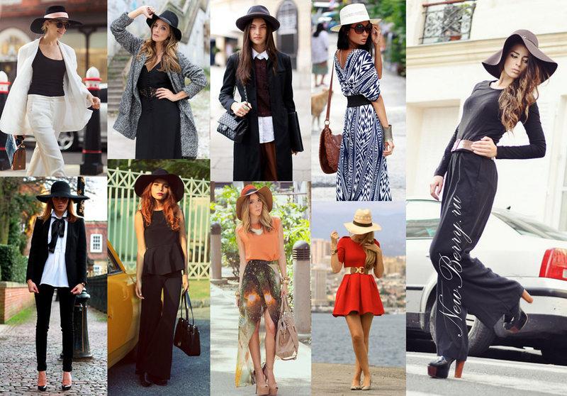 Модные женские шляпы