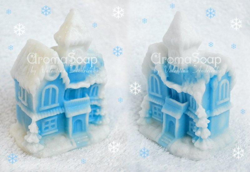 """Мыло """"Большой дом на Рождество"""", аромат свежести ― Мир Мыла"""