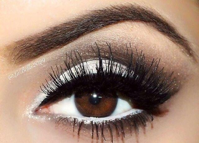 Незабываемый макияж для карих глаз, пошагово