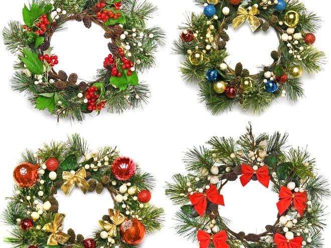 Новогодние украшения своими руками: сказочный рождественский венок (фото) - tochka.net