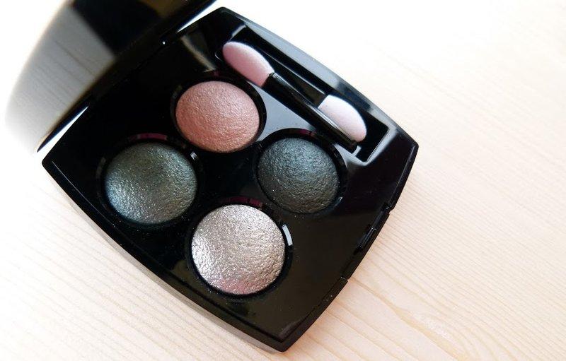 Новые тени Chanel Les 4 Ombres 232 Tisse Venitien и пошаговый макияж с ними - О косметике и не только