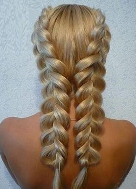 Объемная коса: способы плетения (фото)