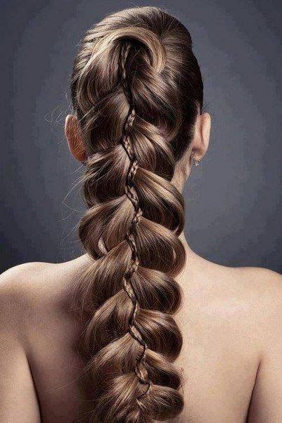 Объёмные и шикарные косы фото