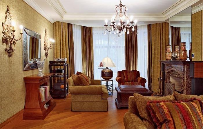 Оформление интерьера в викторианском стиле