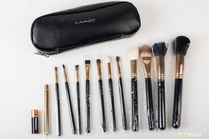 Отличная реплика кистей MAC - Professional Makeup 12 PCs Brush