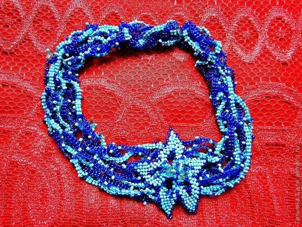 Ожерелье из бисера своими руками / Хенд мейд