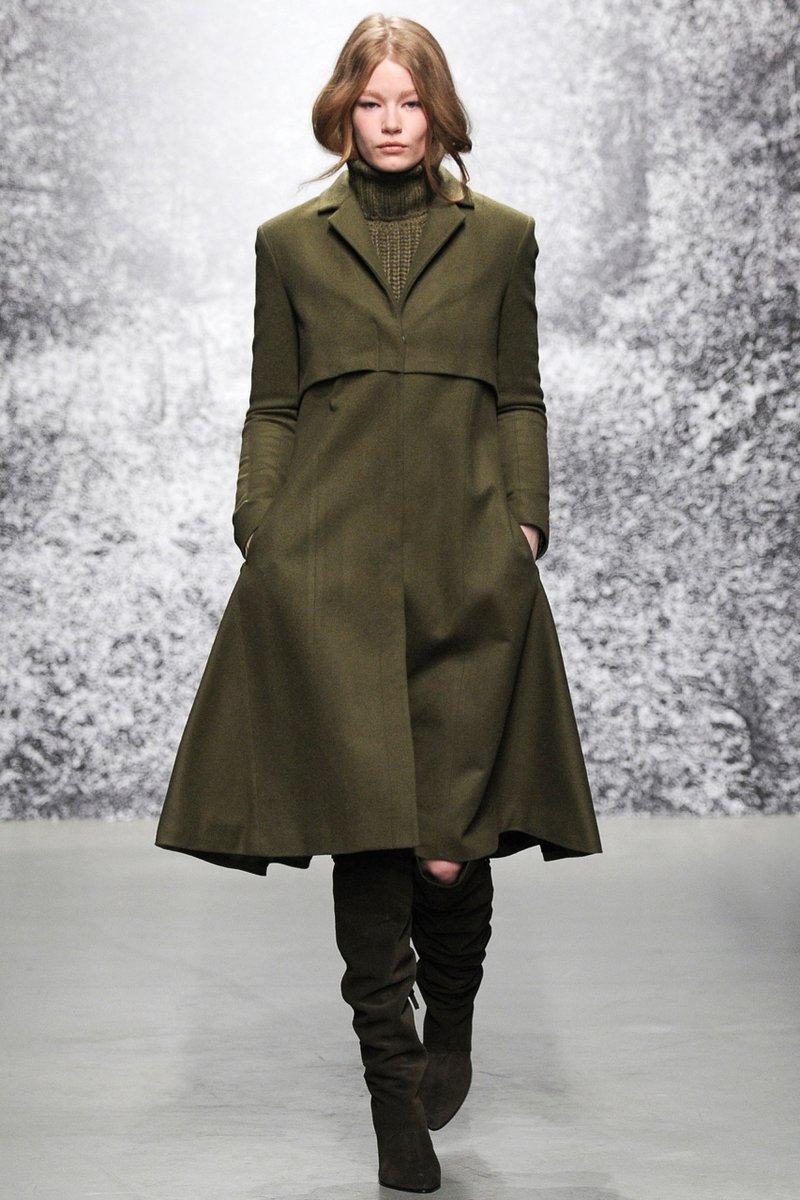 Пальто в стиле милитари Paul & Joe