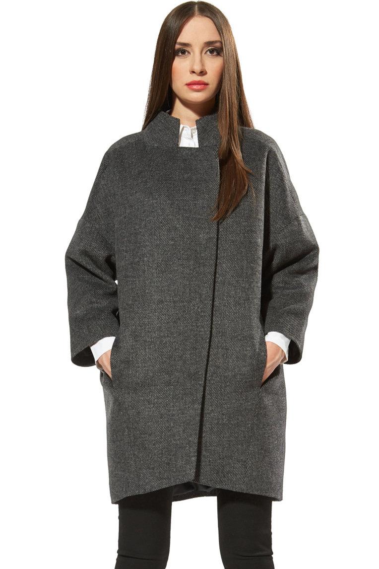 Пальто женское на кнопках COME PRIMA Арт.1697   Интернет-магазин Click&Dress;