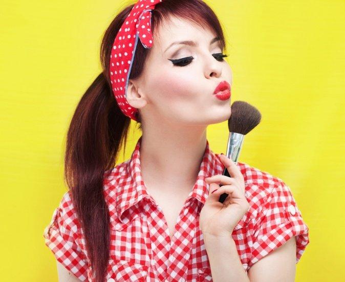 Пин ап причёски: необычный образ своими руками