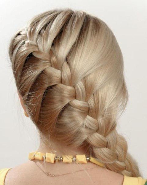 плетем косы самой себе