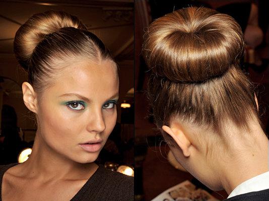 Прическа пучок- пошаговые техники выполнения на разной длине волос
