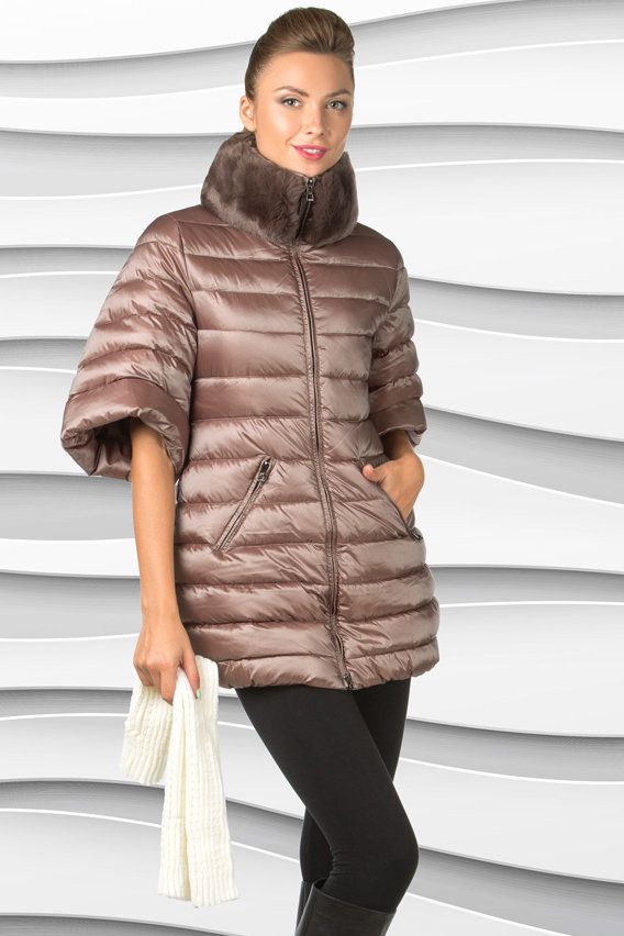 Пуховик женский Арт.WMF1510 - chameleon | Интернет-магазин Click&Dress;