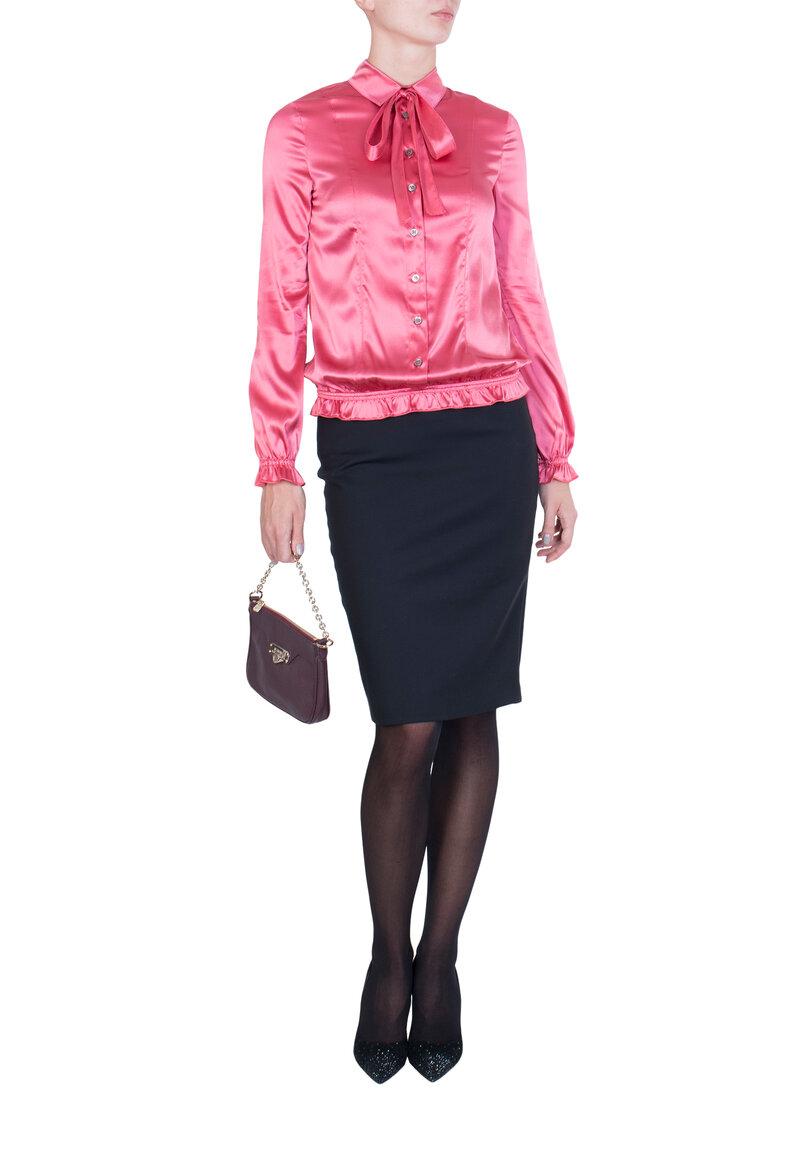 Розовая Блуза PATRIZIA PEPE - купить по цене 8330 рублей - PodiumLuxe.ru