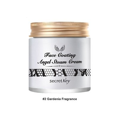 SECRET KEY Face Coating Angel Steam Cream Стим крем с аргановым маслом купить в интернет магазине beautydrugs.ru