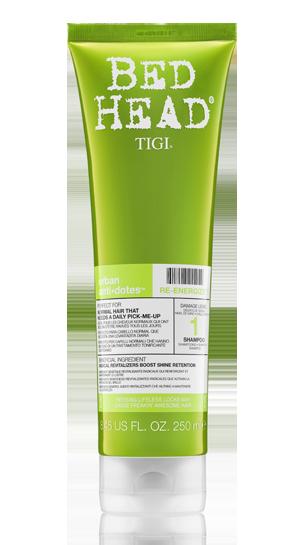 Шампунь для нормальных волос уровень 1 Urban Anti+dotes Re-Energize Shampoo от TIGI