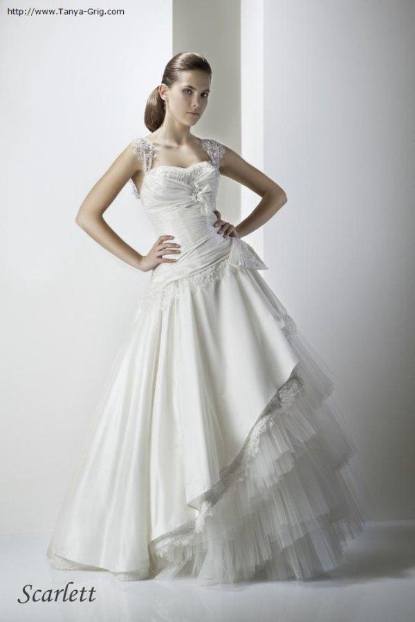 Смотреть фото платье Татьяна Григ модель Скарлетт