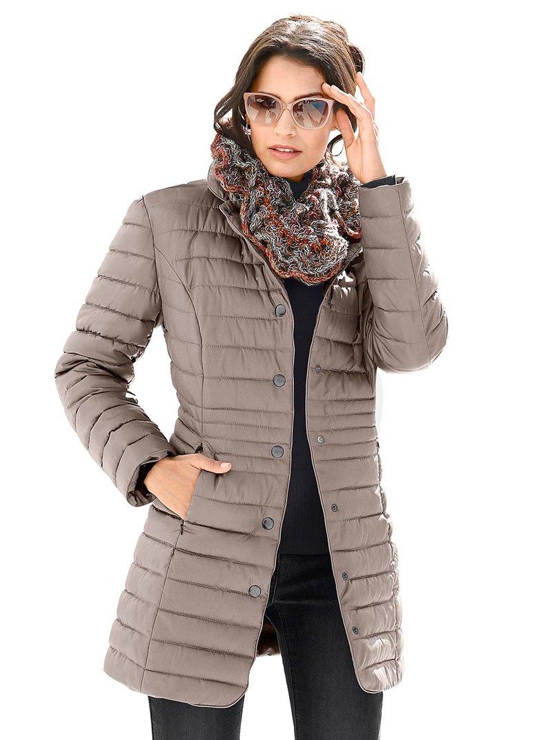 Стеганая куртка цвет серо-коричневый всего 4799  р. купить в WITT International - 550.355.020