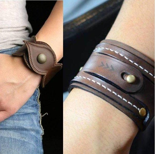 стильные браслеты на фото