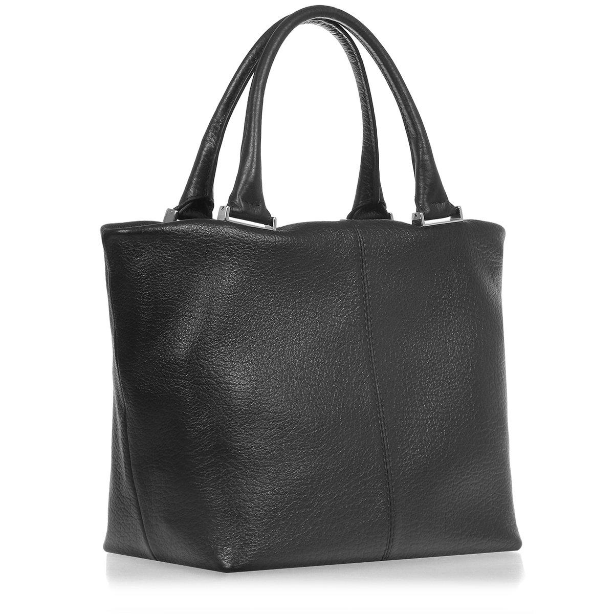 Сумка Gaude H7300 black – Италия, черного цвета, натуральная кожа, цены, купить в интернет-магазине.