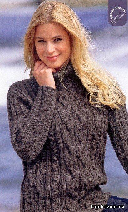 Свитер или джемпер, в чем отличие... / связать свитер женский