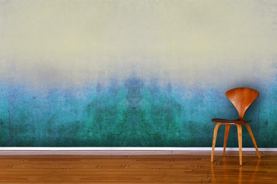 градиентное окрашивание стен
