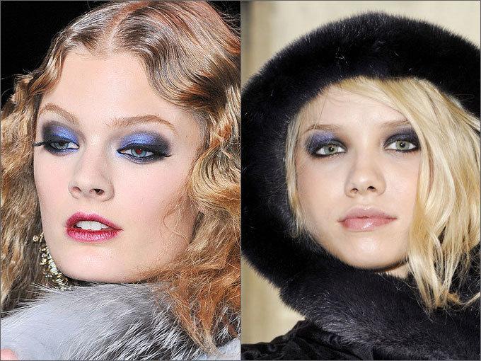 Тенденции в макияже: smoky eyes   Осень-зима 2015-2016 на Fashion-fashion.ru
