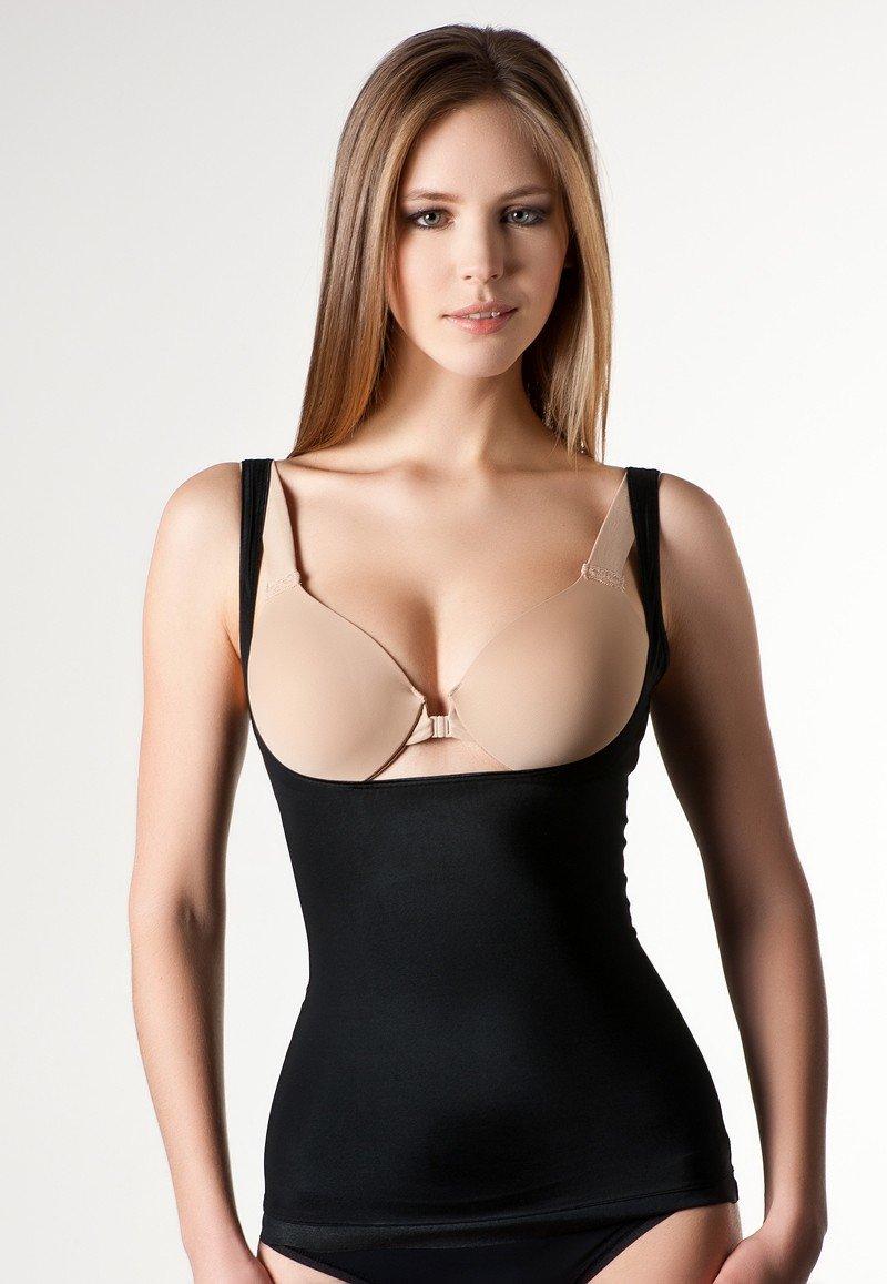 Топ формирующий фигуру SPANX Slimplicity, черный - купить за 7920 руб