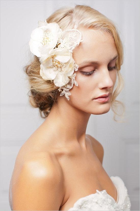 цветы в волосах фото   Фотоархив