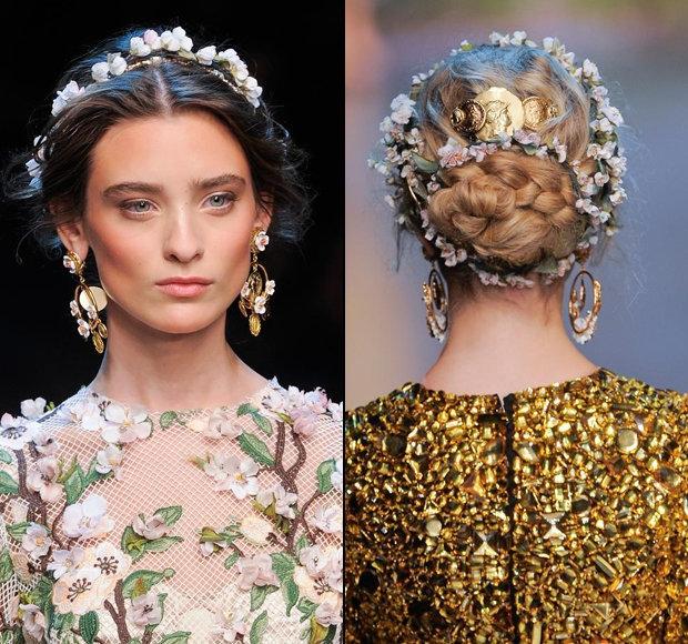 Украшения для волос: летние тенденции - Портал «Домашний»