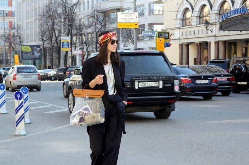 Уличный стиль Москвы • НОВОСТИ В ФОТОГРАФИЯХ
