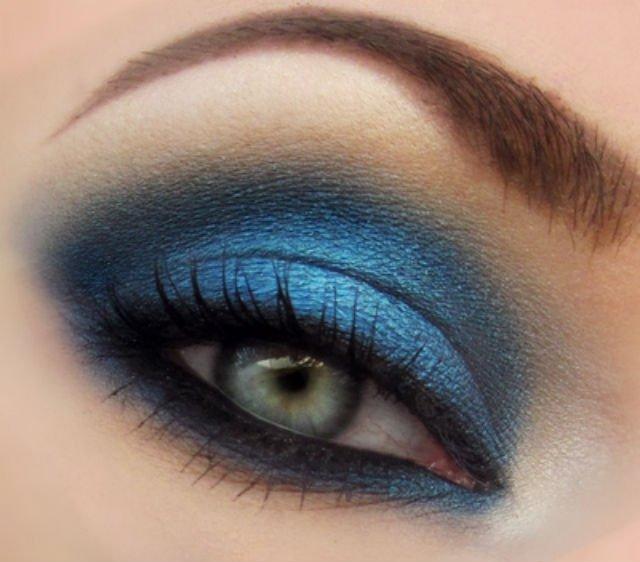 Варианты макияжа глаз в стиле smoky eyes
