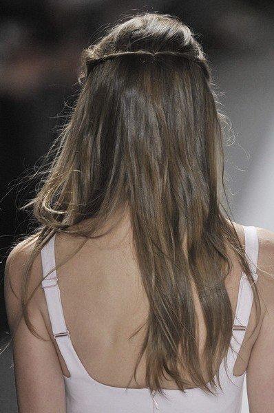 Вечерние прически с косами (1)