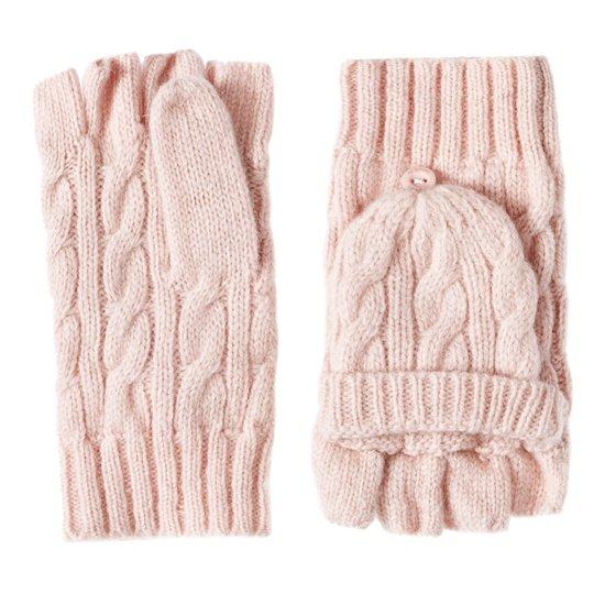 Вязаные перчатки-трансформеры, O'stin, где купить: O'Stin
