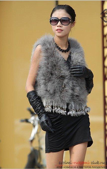 Выкройка меховых жилетов - создай теплый и модный жилет с оригинальным дизайном 20 фотографий