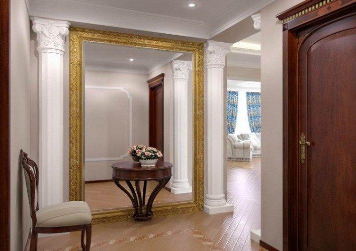 Зеркала в интерьере прихожей фото дизайн | Советы и рекомендации от специалистов