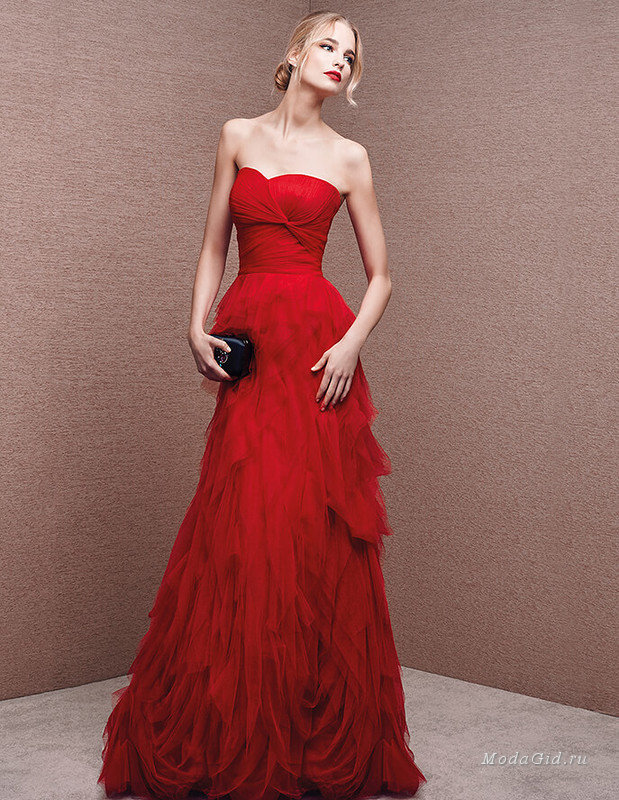 Женская мода: Коллекция вечерних платьев La Sposa 2016