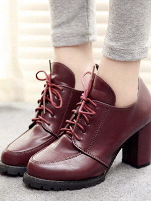 Женские ботинки 2016, фото модных зимних и весенних ботинок из натуральной кожи