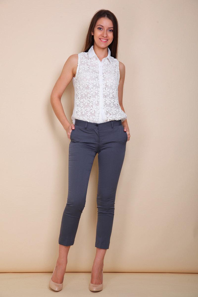 Женские брюки TB 1430 / R6394 M01 длина 7/8 по цене 3 990 руб. размеров: 2, состав: 76% — полиэстер, 20% — вискоза, 4% — эластан в Москве