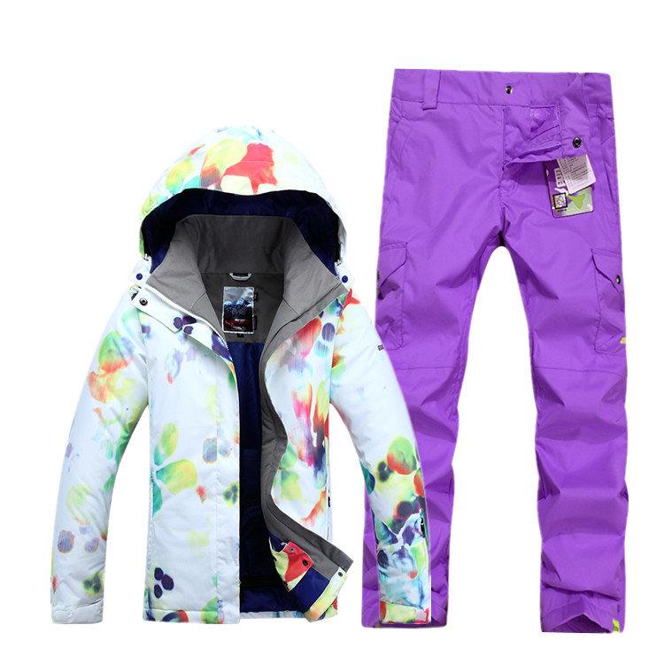 Женский зимний горнолыжный костюм Gsou SNOW - цена 6300 руб | Интернет магазин - ТРАМПЛИН