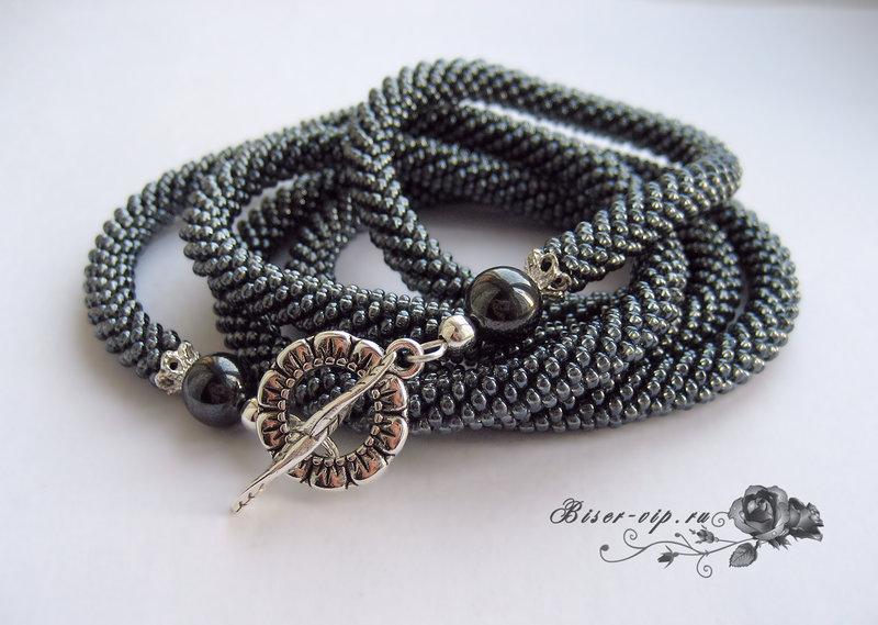 Жозефина - Лариаты, галстуки - Бисерная Бижутерия - Другие коллекции - Украшения из бисера