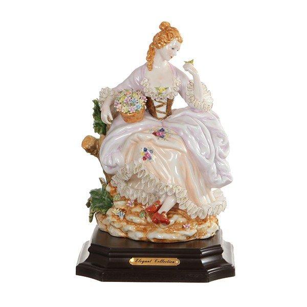 Статуэтки из фарфора Италия, оригинальные фарфоровые статуэтки.