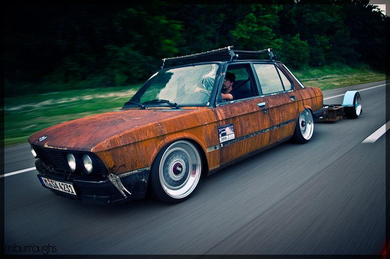 BMW в стиле Rat Look.