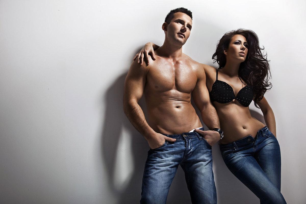 Красивые мужские и женские тела видео