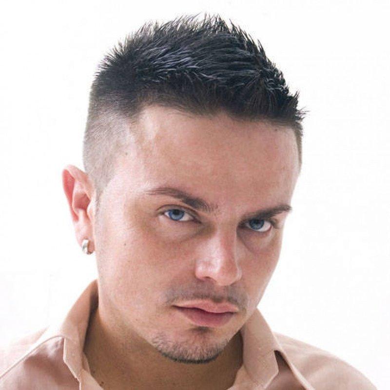стрижка без челки фото мужская