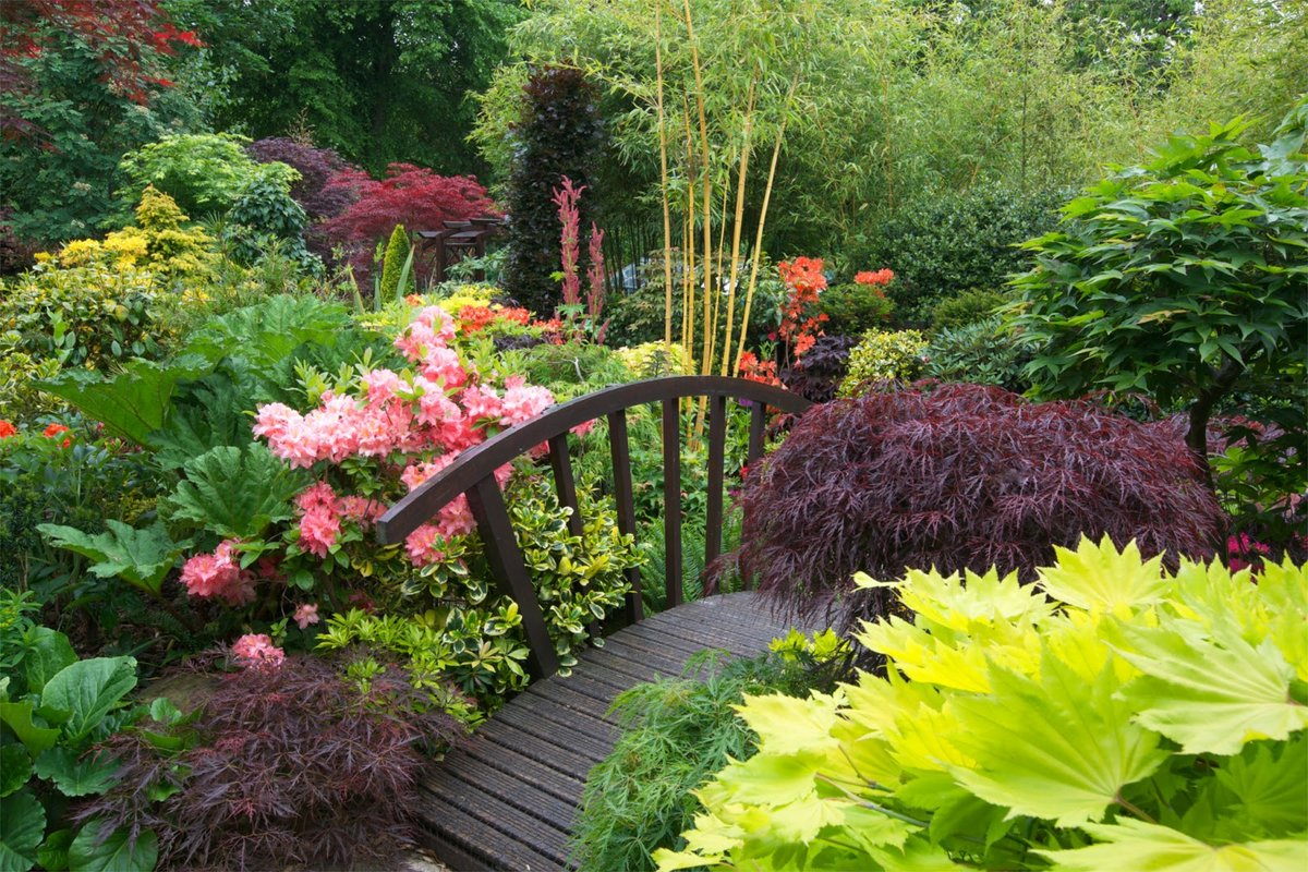 Lovely Four Seasons Garden   The Most Beautiful Home Gardens In The World ...  Colours