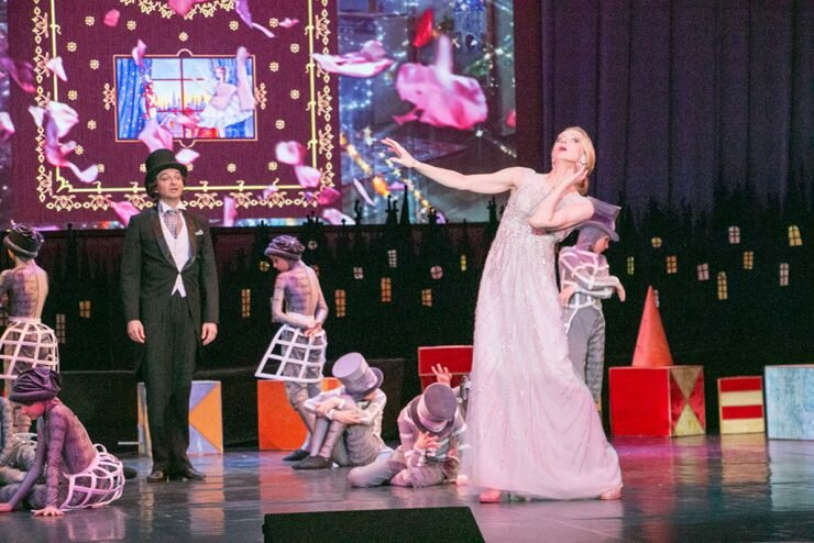 Илзе Лиепа и воспитанники красногорских учебных заведений представили хореографический спектакль «Здравствуй, Андерсен!»