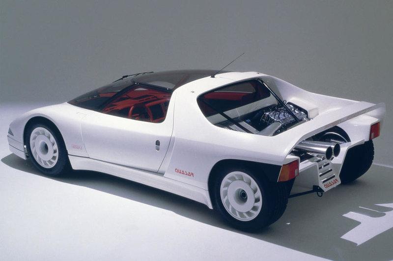 Концепт-кар Peugeot Quasar